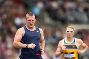Robert Jones of the United States competes in the Men's 1500m IT1 during the Athletics during day seven of the Invictus Games Sydney 2018 at Sydney Olympic Park Athletics Centre on October 26, 2018 in Sydney, Australia.