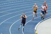 Robert Jones of the United States competes in the Men's 1500m IT1 during Athletics on day seven of the Invictus Games Sydney 2018 at Sydney Olympic Park Athletics Centre on October 26, 2018 in Sydney, Australia.