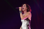 Sarah McLachlan sings during the opening ceremony of the 2017 Invictus Games at Air Canada Centre on September 23, 2017 in Toronto, Canada.The Invictus Games is the only international sporting event for wounded, injured and sick servicemen and Women (WIS). This year's games will bring together 550 competitors from 17 nations.