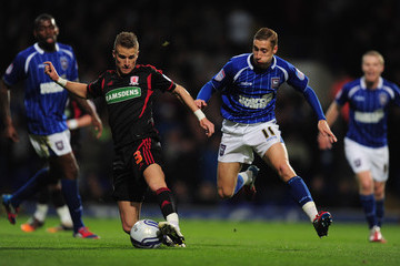 Lee Martin Ipswich Town v Middlesbrough - npower Championship