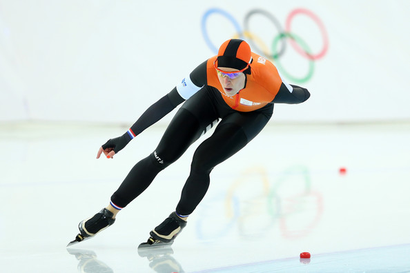Ireen Wust Ireen Wust of the Netherlands competes during the Women's ...