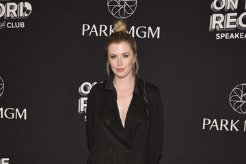Ireland Baldwin On The Record Speakeasy And Club Red Carpet Grand Opening Celebration At Park MGM