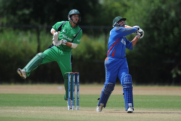 Khaliq Dad Noori Ireland v Afghanistan - ICC World Cricket League Division One