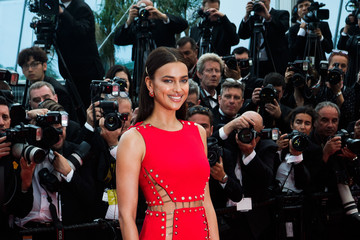 Irina Shayk 'Sorry Angel (Plaire, Aimer Et Courir Vite)' Red Carpet Arrivals - The 71st Annual Cannes Film Festival