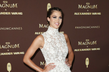 Iris Mittenaere Magnum VIP Party Arrivals - The 71st Annual Cannes Film Festival