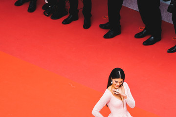 Iris Mittenaere 'Oh Mercy! (Roubaix, Une Lumiere)'Red Carpet - The 72nd Annual Cannes Film Festival