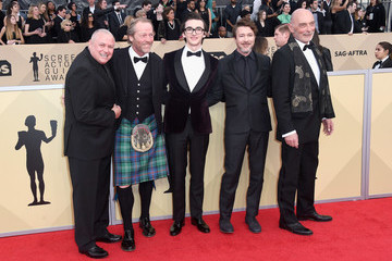 Isaac Hempstead Wright Conleth Hill 24th Annual Screen Actors Guild Awards - Arrivals