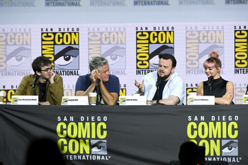 Isaac Hempstead Wright Maisie Williams 2019 Comic-Con International - 'Game Of Thrones' Panel And Q&A