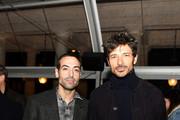 (EDITORIAL USE ONLY) Mohammed Al Turki and Andres Velenscoso attend the Isabel Marant show as part of the Paris Fashion Week Womenswear Fall/Winter 2020/2021 on February 27, 2020 in Paris, France.
