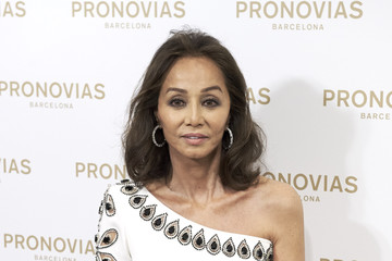 Isabel Preysler Isabel Preysler Inaugurates Pronovias Flagship Store in Madrid