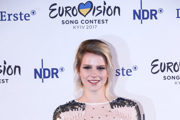 """Isabella """"Levina"""" Lueen 'Eurovision Song Contest 2017 - Unser Song' Press Conference And Rehearsal"""