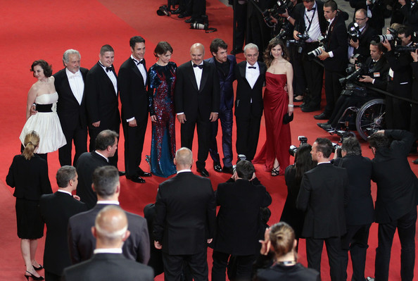 Our Life - Premiere :63rd Cannes Film Festival [alina berzenteanu,isabella ragonese,giorgio colangeli,daniele luchetti,stefania montorsi,elio germano,actors,raoul bova,life - premiere,red carpet,event,carpet,premiere,red,formal wear,suit,flooring,tuxedo,performance,cannes film festival]