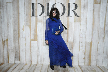 Isabelle Adjani Christian Dior Couture S/S19 Cruise Collection: Photocall At Grandes Ecuries De Chantilly