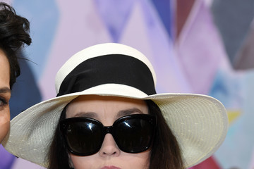 Isabelle Adjani Schiaparelli : Front Row - Paris Fashion Week - Haute Couture Fall/Winter 2016-2017