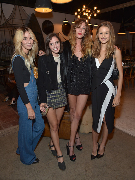 Erin Wasson Hosts Dinner To Launch Collection For PacSun