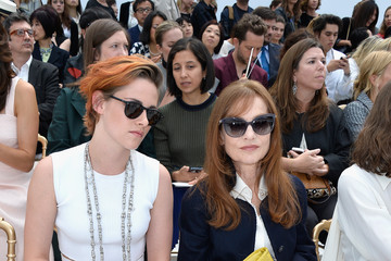 Isabelle Huppert Front Row at Chanel