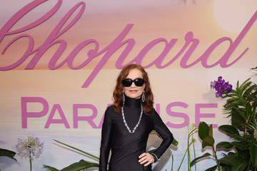 Isabelle Huppert Chopard Dinner Arrivals - The 74th Annual Cannes Film Festival