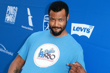 Isaiah Mustafa Clayton Kershaw's 5th Annual Ping Pong 4 Purpose Celebrity Tournament