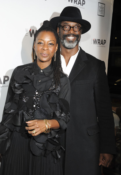 Jenisa Garland and Isaiah Washington