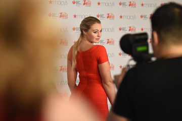 Iskra Lawrence The American Heart Association's Go Red For Women Red Dress Collection 2017 Presented By Macy's at Fashion Week in New York City - Arrivals & Front Row