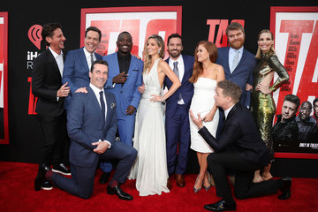 Isla Fisher Annabelle Wallis Premiere Of Warner Bros. Pictures And New Line Cinema's 'Tag' Red Carpet