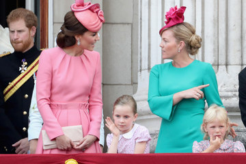 Isla Phillips Trooping the Colour 2017