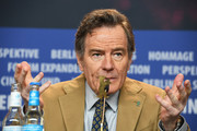 Bryan Cranston attends the 'Isle of Dogs' press conference during the 68th Berlinale International Film Festival Berlin at Grand Hyatt Hotel on February 15, 2018 in Berlin, Germany.