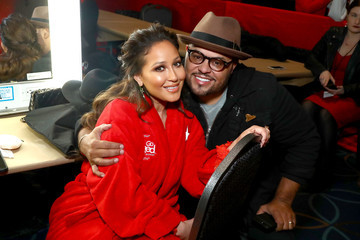 Israel Houghton The American Heart Association's Go Red for Women Red Dress Collection 2018 Presented By Macy's - Backstage