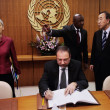 Gabriela Shalev Israeli Foreign Minister Attends Meetings At United Nations
