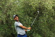Edoardo Molinari of Italy tees off on the 12th hole during day one of the Italian Open at Gardagolf CC on May 31, 2018 in Brescia, Italy.
