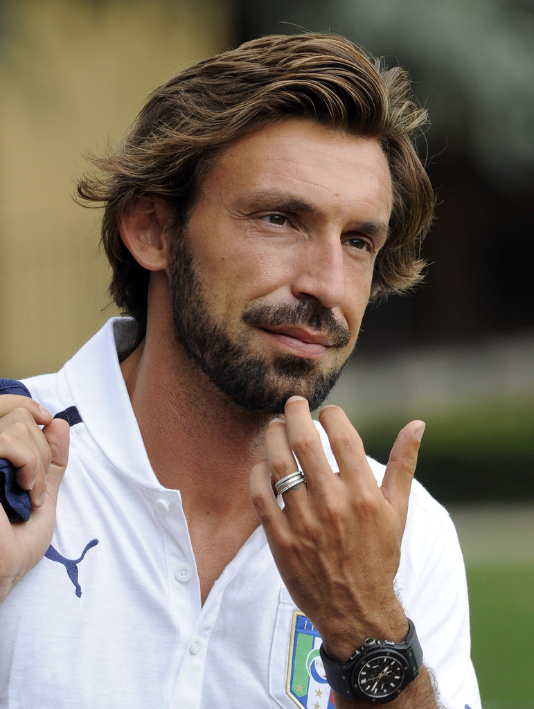 Andrea Pirlo s s Italy Training Session & Press