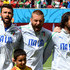Daniele De Rossi Andrea Pirlo Photos - (L-R) Andrea Barzagli, Daniele De Rossi and Andrea Pirlo of Italy sing the National Anthem prior to the 2014 FIFA World Cup Brazil Group D match between Italy and Costa Rica at Arena Pernambuco on June 20, 2014 in Recife, Brazil. - Italy v Costa Rica: Group D
