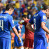 Giorgio Chiellini Matteo Darmian Photos - Matteo Darmian (L) and Giorgio Chiellini of Italy look dejected after the 2014 FIFA World Cup Brazil Group D match between Italy and Uruguay at Estadio das Dunas on June 24, 2014 in Natal, Brazil. - Italy v Uruguay: Group D