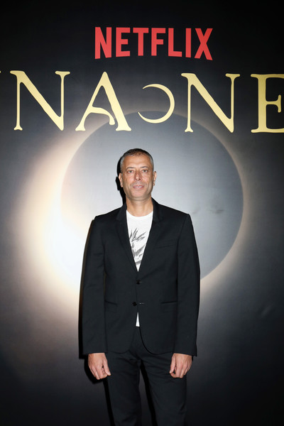 "Netflix's ""Luna Nera"" - Premiere Photocall [luna nera,suit,formal wear,font,poster,photography,white-collar worker,album cover,tuxedo,movie,micaela ramazzotti,netflixs,premiere photocall,gli anni pi\u00e31 belli,italy,rome,public relations,tuxedo m.,tuxedo,phenomenon,netflix,public,meter]"