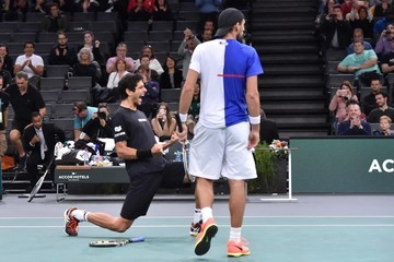Ivan Dodig Rolex Paris Masters - Day Five