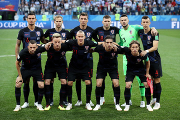 Ivan Perisic Marcelo Brozovic Argentina vs. Croatia: Group D - 2018 FIFA World Cup Russia