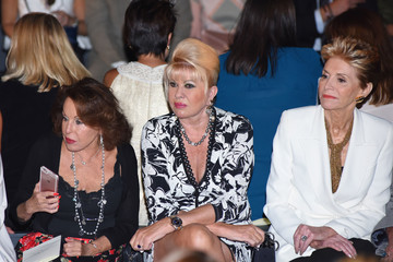Ivana Trump Dennis Basso - Front Row - September 2016 - New York Fashion Week: The Shows