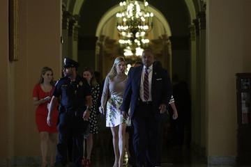 Ivanka Trump Ivanka Trump Meets With GOP Lawmakers on Capitol Hill