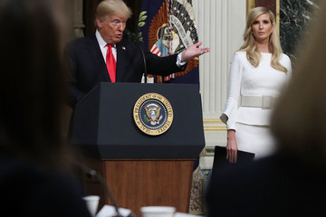 Ivanka Trump Trump Speaks To Interagency Task Force To Monitor And Combat Trafficking In Persons Annual Meeting At The White House