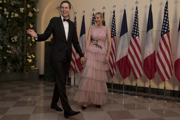 Ivanka Trump Jared Kushner Trump And First Lady Hosts State Dinner For French President Macron And Mrs. Macron