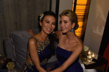 Ivanka Trump Wendi Deng Murdoch Michael Kors and iTunes After Party at the Mark Hotel