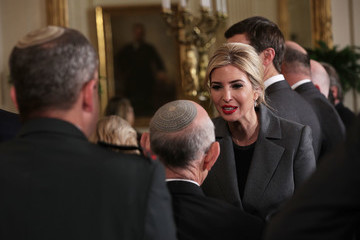 Ivanka Trump Donald Trump Holds Joint Press Conference With Israeli PM Netanyahu