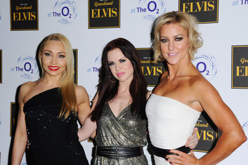 Iveta Lukosiute Arrivals at the 'Elvis At The 02' Exhibition