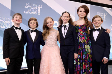 Ivy George Chloe Coleman 26th Annual Screen ActorsGuild Awards - Red Carpet
