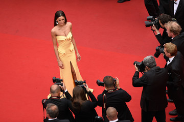 "Izabel Goulart Closing Ceremony And ""Le Glace Et Le Ciel"" Premiere - The 68th Annual Cannes Film Festival"
