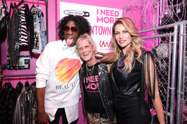 Mae McKagan Capsule Collection Launch At I NEED MORE [pink,fashion,fashion design,magenta,event,boutique,j. alexander,susan holmes,jimmy webb,new york city,mckagan,mae mckagan capsule collection launch]