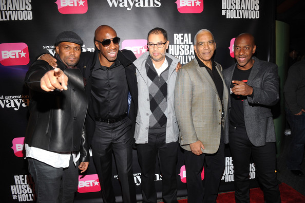 """BET Networks New York Premiere Of """"Real Husbands of Hollywood"""" And """"Second Generation Wayans"""" [real husbands of hollywood,second generation wayans,event,premiere,performance,stan lathan,stephen g. hill,jesse collins,jb smoove,chris spencer,new york,bet networks,premiere]"""
