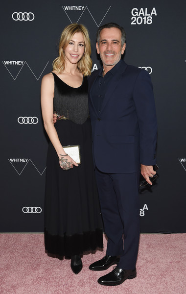2018 Whitney Gala Sponsored By Audi [whitney gala,jill bikoff,j. darius bikoff,little black dress,dress,premiere,fashion,event,carpet,cocktail dress,formal wear,flooring,style,new york city,audi,l,whitney museum of american art]