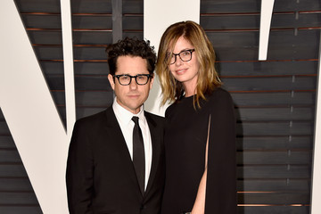 J.J. Abrams Arrivals at the Elton John AIDS Foundation Oscars Viewing Party — Part 5