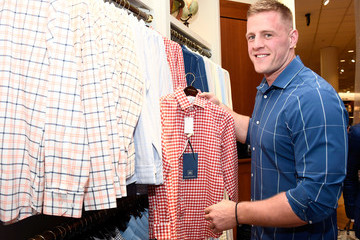 J.J. Watt J.J. Watt Celebrates Mizzen+Main at Nordstrom